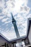 KUALA LUMPUR MALEZJA, LUTY, - 01, 2017: Krajowy meczet Malezja w Kuala Lumpur Obrazy Royalty Free