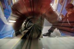 KUALA LUMPUR, MALEZJA LUTY 01, 2018 - MRT msza gwałtowny Tran Obrazy Stock