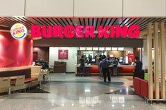 Kuala Lumpur, Malezja 29 2016 Nov - Burger King ujście Zdjęcie Royalty Free