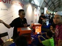 Kuala Lumpur, Malezja - 16 2017 Września mydigitalmaker jest łącznym publiczny - prywatny wydarzeniem Zdjęcie Stock