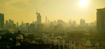 Kuala Lumpur In a manhã Fotos de Stock
