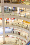 KUALA LUMPUR - March 01, 2015: Suria KLCC in Petronas Twin Tower Stock Photos