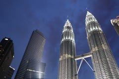 KUALA LUMPUR - MAY 2013: Petronas Twin Towers Stock Photos
