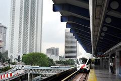 Kuala Lumpur metro Stock Photography