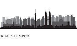 Kuala Lumpur miasta linia horyzontu Zdjęcie Royalty Free