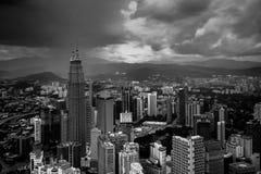 Kuala Lumpur miasta widok od KL wierza Obraz Royalty Free