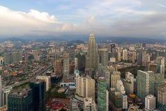 Kuala Lumpur Modern City Aerial View Royalty Free Stock Photo