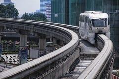 Kuala Lumpur monorail Royaltyfri Bild