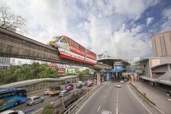 Kuala Lumpur Monorail Stock Photos