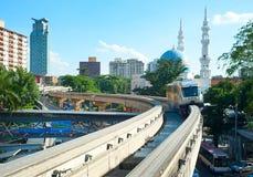 Kuala Lumpur monorail Stock Photo