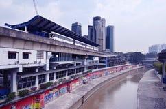Kuala Lumpur Monorail Station Imagem de Stock