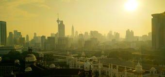 Kuala Lumpur in the morning Stock Photos