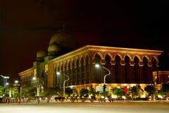 Kuala Lumpur moské Arkivbilder