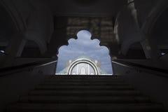 Kuala Lumpur Mosque Citys scape Stock Afbeelding