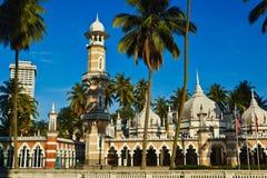 Kuala Lumpur. Mosque Masjid Jamek in Kuala Lumpur, Malaysia royalty free stock image