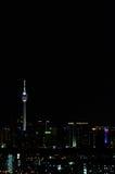 Kuala Lumpur at night Stock Images