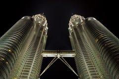 Kuala Lumpur at night Royalty Free Stock Photo