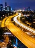Kuala Lumpur at night Stock Image