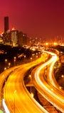 Kuala Lumpur night scene Stock Photos