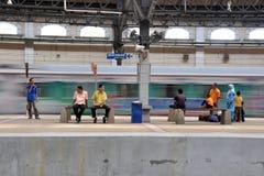 Kuala lumpur old railway station malaysia Royalty Free Stock Photo