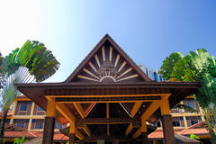 Kuala Lumpur ouvre le composé Images stock