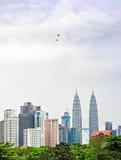 Kuala Lumpur panorama,  Malaysia Stock Images