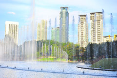 Kuala Lumpur parkerar Royaltyfri Foto