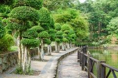 Kuala Lumpur Perdana Botanical Gardens is op grote schaal recreatieve park van Kuala Lumpur ` s het eerst stock afbeeldingen