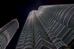 kuala Lumpur Petronas góruje zdjęcia stock