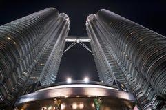 kuala Lumpur Petronas góruje zdjęcia royalty free