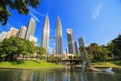 kuala Lumpur Petronas góruje Obrazy Royalty Free
