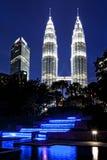 Kuala Lumpur petronas torn Arkivbild