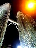 Kuala Lumpur petronas torn Fotografering för Bildbyråer