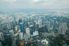 Kuala Lumpur from petronas tower Stock Image