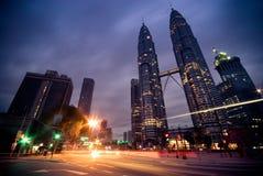 Kuala Lumpur, Petronas Twin Towers Royalty Free Stock Images