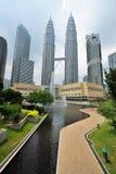 Kuala Lumpur. Petronas Twin Towers Royalty Free Stock Photos