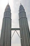 kuala Lumpur Petronas wieże zdjęcia royalty free