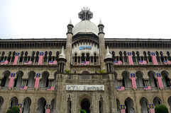 Kuala Lumpur Railway Station Administration Building Royalty Free Stock Images