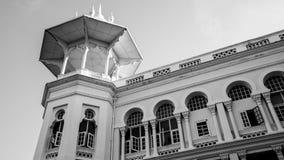 Kuala Lumpur railway station. One of the big chhatri atop the corner of the colonial era Kuala Lumpur Railway Station. The chhatris is a traditional element of Royalty Free Stock Image