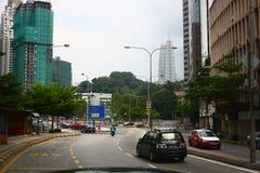 Kuala Lumpur śródmieście Zdjęcie Stock