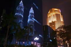 Kuala Lumpur Reflections. Royalty Free Stock Photos
