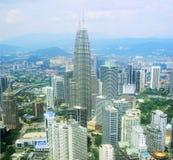 Kuala Lumpur skyline Stock Photography