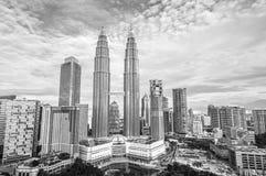 Kuala Lumpur Skyline Immagini Stock