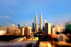 Kuala Lumpur-Skyline Lizenzfreies Stockfoto