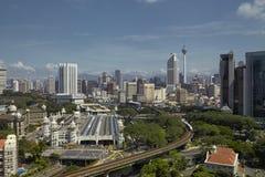 Kuala Lumpur Skyline Fotos de archivo