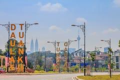 Kuala Lumpur Skyline Immagine Stock