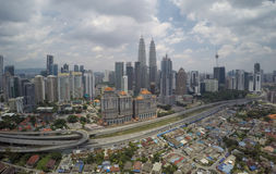 Kuala Lumpur Skyline Photo libre de droits
