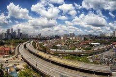 Kuala Lumpur Skyline Fotografia Stock Libera da Diritti