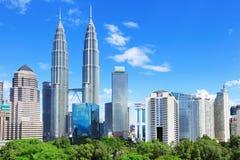 Kuala Lumpur skyline Royalty Free Stock Photography