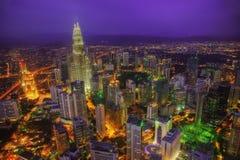 Kuala Lumpur Skyline Malaysia photos stock